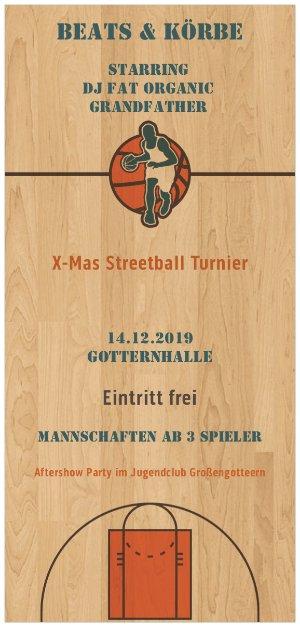 Beats & Körbe - XMas Streetball Turnier