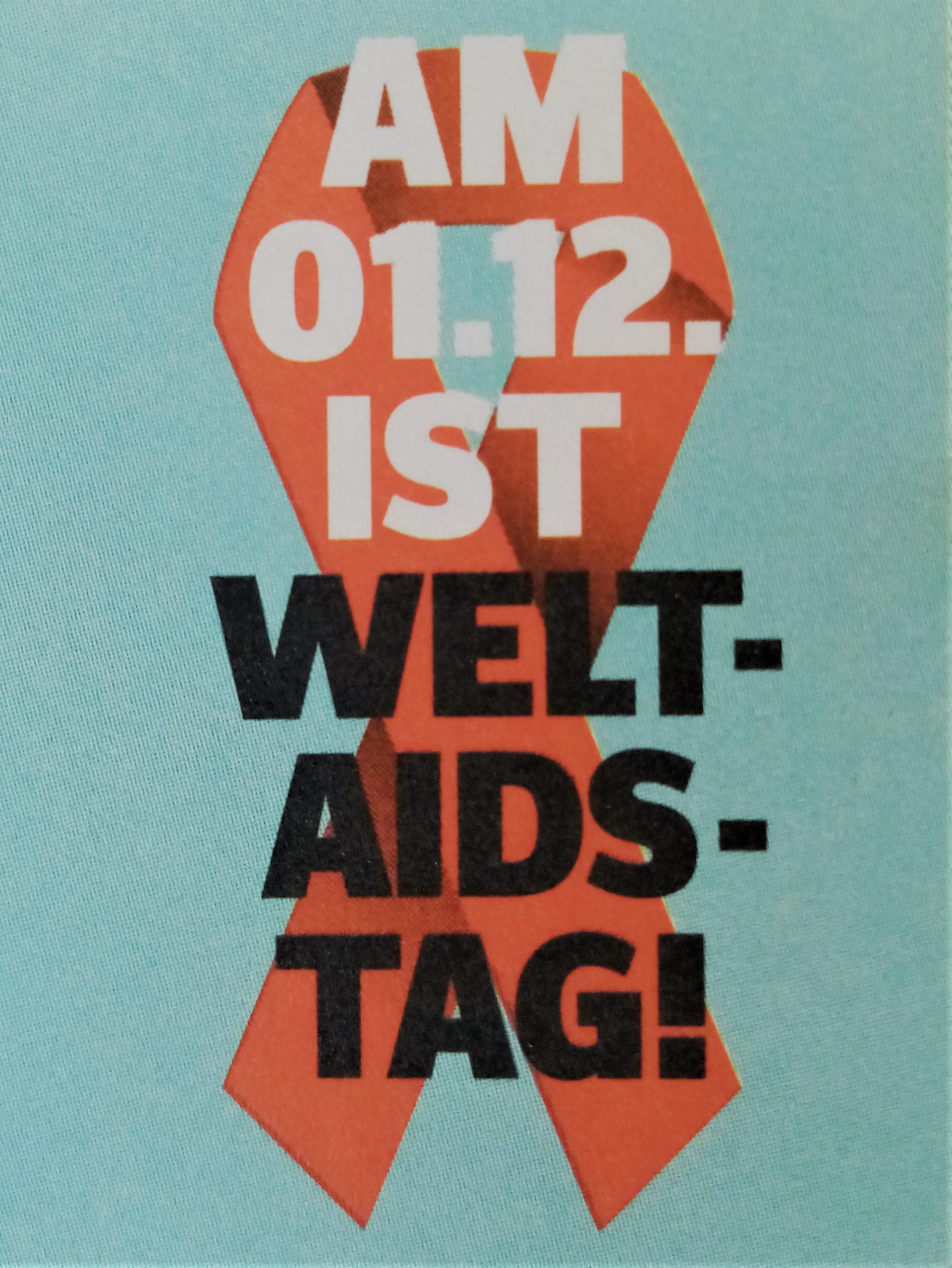Am 1. Dezember ist Welt-Aids-Tag!